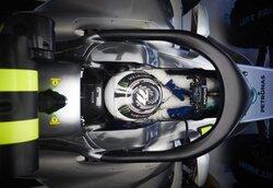 画像:ボッタスがメルセデスF1『W09』のハロに太鼓判「レースシミュレーションでもまるで気にならなかった」