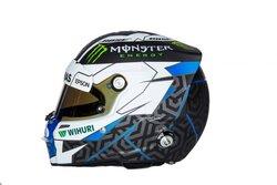 画像:ボッタス、2018年F1シーズンで使用するヘルメットを決定。1500以上の応募から選考