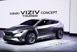 画像:スバル、ツアラーがテーマの新コンセプトカー『SUBARU VIZIV TOURER CONCEPT』を公開
