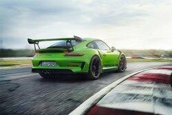 画像:ポルシェ、最高出力520馬力の『ニュー911 GT3 RS』を世界初公開。未来を見据えた電動コンセプトも