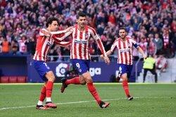 画像:アトレティコとセビージャの上位対決はドロー…前半は4ゴールうまれる乱打戦に