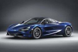 画像:マクラーレン、ジュネーブで『720S』特別仕様車を発表。アトランティック・ブルーで上質感を演出