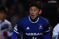 画像:横浜FM栗原勇蔵、左ハムストリング肉離れで全治6〜8週間…ルヴァン杯で負傷