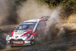 画像:WRCメキシコ:競技3日目、タナクが3番手浮上。トヨタ、メキシコで初の表彰台へ