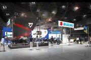 スズキ、新型『カタナ』を大阪・東京モーターサイクルショー2019で日本初公開