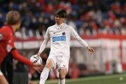 札幌、田中駿汰のU24日本代表離脱を発表…前日のアルゼンチン戦はベンチ外