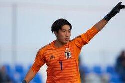 画像:広島のU20代表GK大迫敬介、プロA契約締結合意「ここからがスタート」