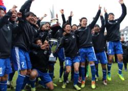 画像:日本高校サッカー選抜、デュッセルドルフ国際ユース大会で優勝!