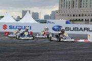 急きょのスケジュール変更も何のその。好天のなかモータースポーツジャパン2018開催