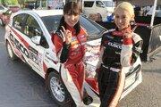 SKE48卒業生の梅本まどか、コドライバーデビュー戦でクラス優勝。「新鮮な経験でした」