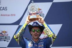 画像:MotoGP:スズキ、2戦連続表彰台獲得。イアンノーネ「フロントエンドの問題も解決した」