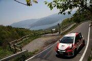 全日本ラリー:トヨタ、第3戦で新たに『ヴィッツGRMN』を投入。デビュー戦で2位表彰台獲得