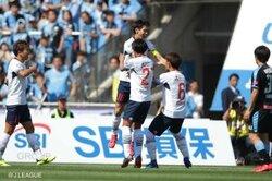 """画像:FC東京、セットプレーからの2得点で""""多摩川クラシコ""""制す…川崎は2連敗"""
