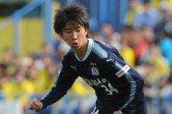 画像:磐田の針谷岳晃、練習中に負傷…右ひざ内側側副じん帯損傷で離脱へ