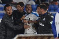 画像:ギレルメに計7試合の出場停止処分…磐田が声明「弁解の余地のない行為」