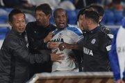 ギレルメに計7試合の出場停止処分…磐田が声明「弁解の余地のない行為」