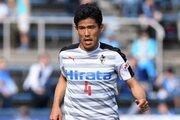 熊本DF園田拓也、右ハムストリング肉離れで離脱へ…横浜FC戦で負傷