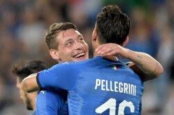 画像:新生イタリア、決勝弾のベロッティは手応え「勝利に値したと思う」