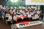 WEC:スーパーシーズン終えたトヨタの中嶋一貴たちが凱旋。可夢偉「ル・マンはまだ勝たせてくれない」