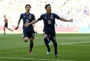 日本、W杯初戦はPKで先制! コロンビアMFが一発退場