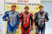 作本輝介「結果を出すことができてホッとしています」/全日本ロード第3戦SUGO ST1000 レース2会見