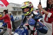 榎戸が雨の筑波を制しJ-GP2クラス初優勝。J-GP3は波乱の展開に/全日本ロード第4戦レース1