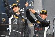 欧州スーパートロフェオ:笠井崇志組がレース2で2位に。3ラウンド連続表彰台を獲得