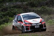 全日本ラリー:トヨタ、リタイアを喫するもマシンの進化に手応え。「ライバルと互角に戦える」