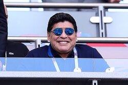 画像:審判批判のマラドーナ、FIFAに謝罪…「いくつかの発言を認める」