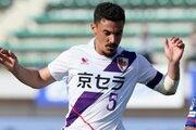 京都、マティアス・カセラスの期限付き移籍を解除…出場3試合で退団