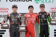 全日本F3選手権:第10戦SUGOの決勝結果が確定。2位の宮田が失格のペナルティ