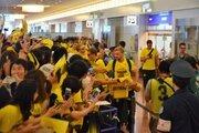 浦和と対戦のドルトムントが来日! オーバメヤンやゲッツェなどに約1000人の大歓声