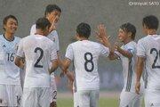 U−20日本代表、フィリピンを相手に8発大勝! 小松が先発起用に応える4得点