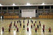 フットサル日本代表、茨城県内でのトレーニングキャンプをスタート