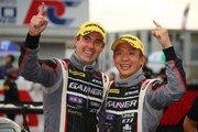 スーパーGT:雨の激闘はGAINER AMGが制す。平中&ビルドハイムが2014年以来の勝利
