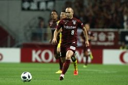 画像:神戸MFイニエスタが一時帰国…チケット完売のFC東京、C大阪戦欠場か