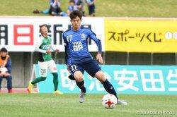 画像:富山DF石坂元気、JFL浦安への期限付き移籍が決定「持てる力を全て出す」