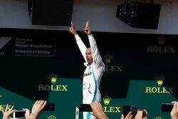 画像:F1ハンガリーGP決勝:ハミルトン完勝、トロロッソ・ホンダのガスリーが殊勲の6位入賞