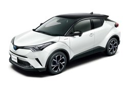 画像:ルーフの色が変更可能に。トヨタ、人気SUV『C-HR』にツートーンカラーを設定