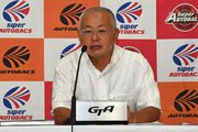 GTA坂東正明代表が2019年スーパーGTカレンダーについて説明。DTMとの初レースは10月か