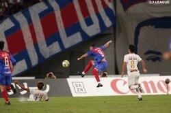 画像:首位・FC東京はエースの1発で勝利…川崎は名古屋に3失点完敗/J1第22節