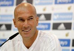 画像:契約延長が噂されるジダン監督 [写真]=Real Madrid via Getty Images