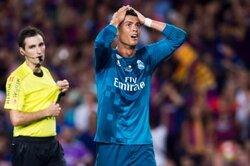 画像:主審を小突いたC・ロナ、5試合出場停止処分…スペイン連盟が発表