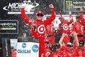 NASCAR:トヨタ、勝利に一歩及ばず。シボレーのラーソンが2017年シーズン3勝目