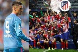 画像:F・トーレス、アトレティコのUEFAスーパー杯制覇を祝福「素晴らしい!」