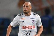 今季加入もJ2出場は1戦のみ…新潟のB・メネゲウ、横浜FCへ期限付き移籍