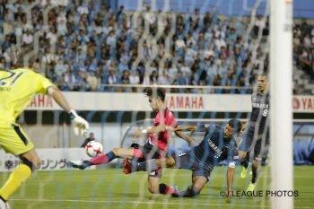 画像:C大阪と磐田の一戦は終盤の同点弾でドローに [写真]=J.LEAGUE PHOTOS