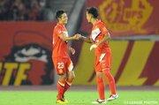 クラブ記録に並ぶ5戦連発…名古屋MF青木「勝利につながっていることが一番」