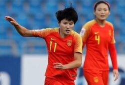 画像:12分間で7ゴール!? 女子中国代表FWがアジア大会で大暴れ!