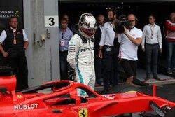 """画像:敗れたハミルトン「フェラーリのマシンには""""トリック""""がある」:F1ベルギーGP日曜"""